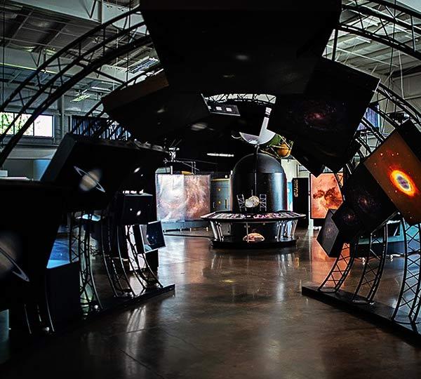 nasa hubble space telescope exhibit