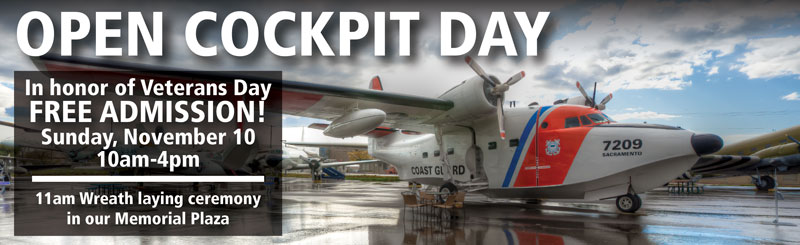 open cockpit event veterans day weekend free event